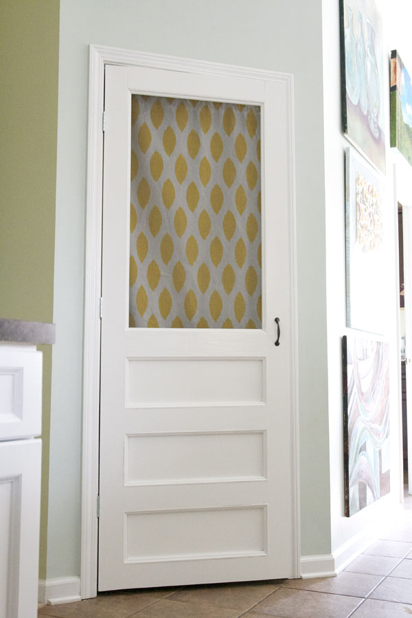 Diy how to build a screen door for Do french doors have screens